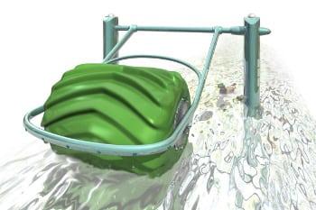 Hydro-electric-barrel