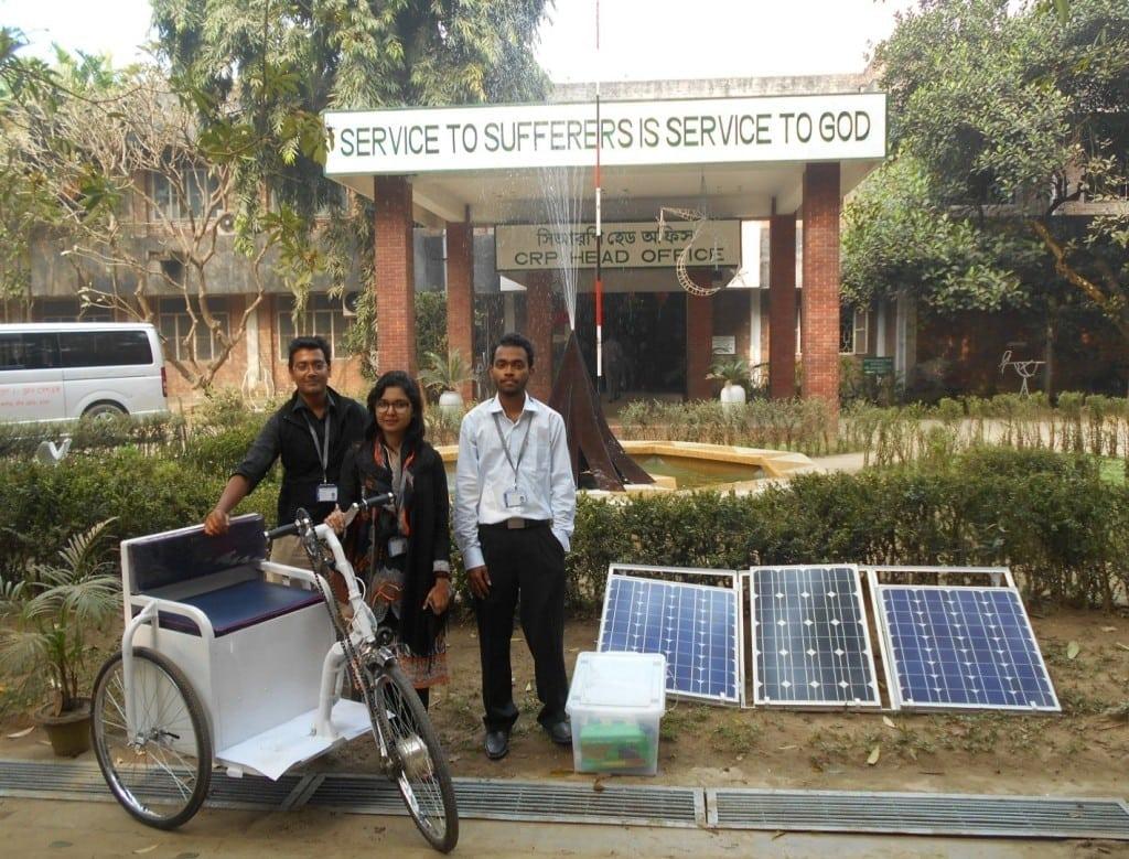 solar electric wheelchair development team