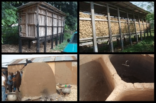 Mud Brick and Wood Storehouses Gallery