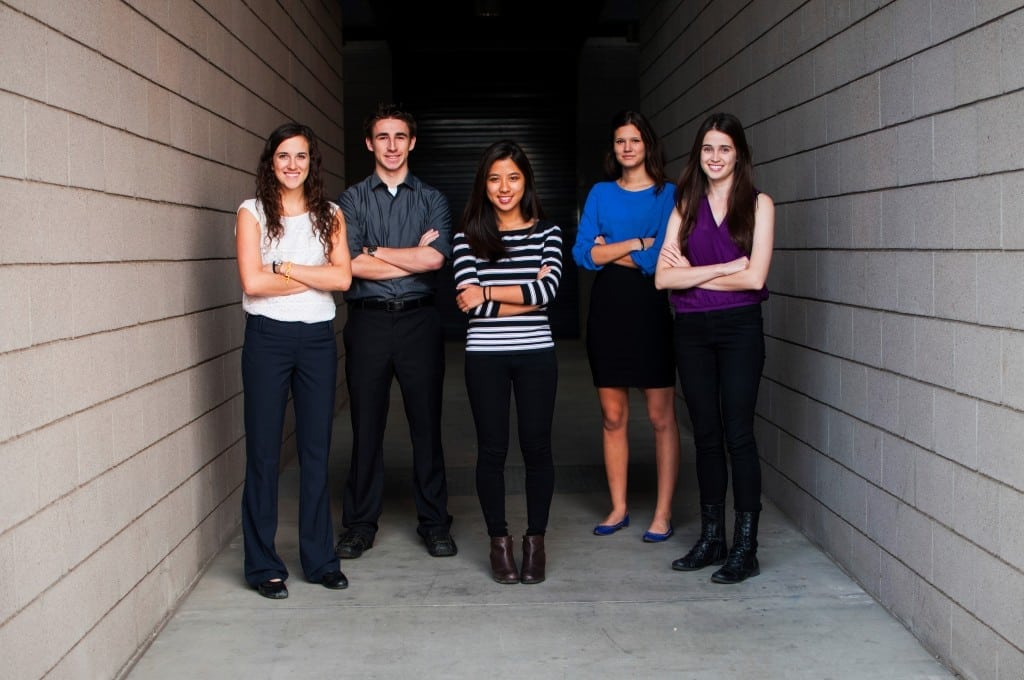 A group photo of the Engineering Smiles team