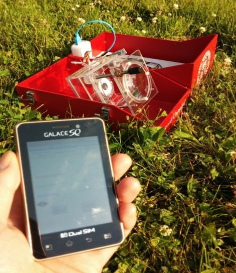 Solar PCR and a phone add on detect cancer off the grid in