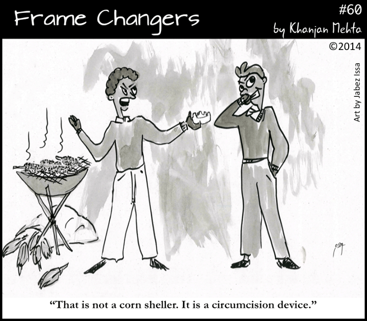 Frame Changers comic