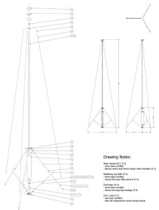 This is one of the schematics of the tower available at Github.