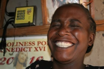 Woman-laughing-Kitale-Kenya