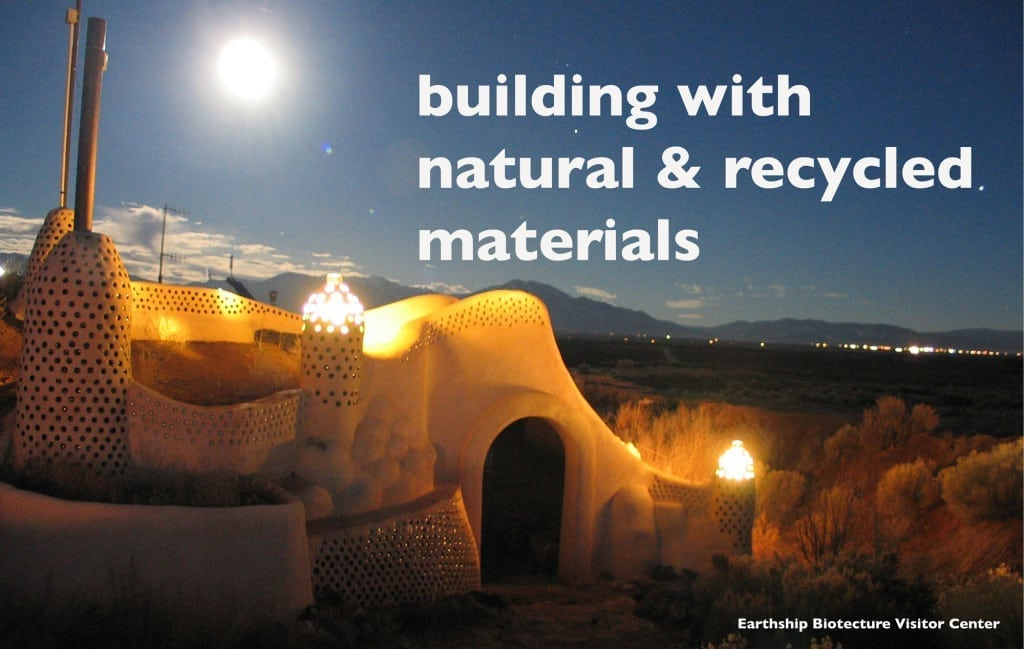 Building with natural resources