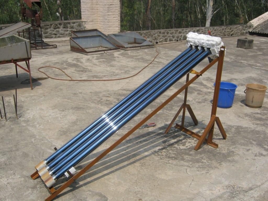 Tubular solar boiler