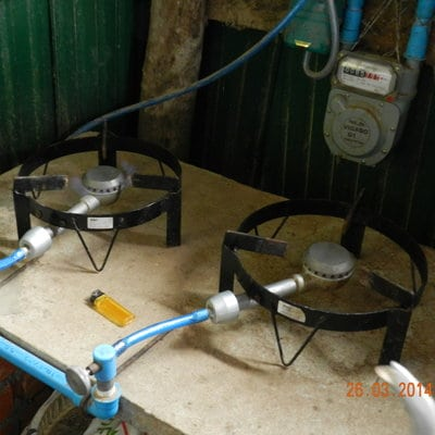 DTW Lotus Biogas Burner