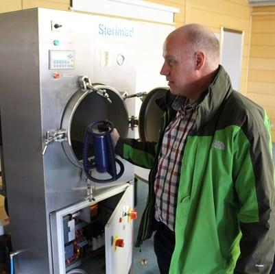 Médecins Sans Frontières Steam Sterilizer