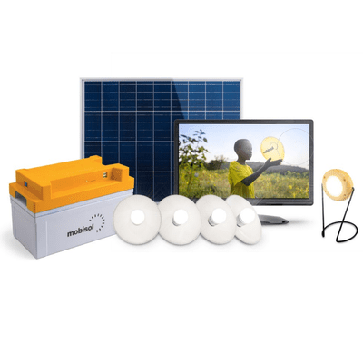 An image of Mobisol's Solar Home System