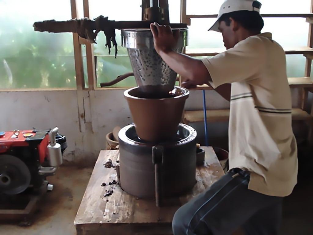 indonesia ceramic water filter press