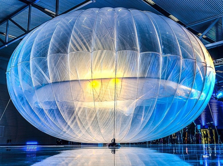 Google Project Loon launch