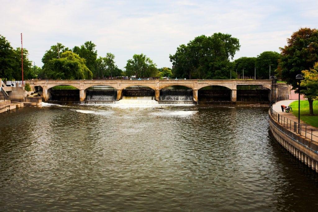 Flint water crisis - Flint River