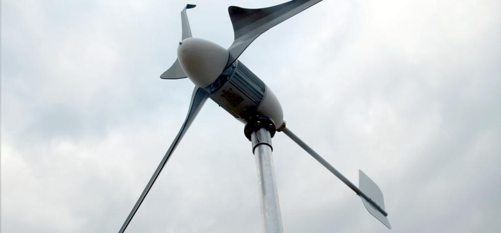 Breezergy Micro Wind Turbine
