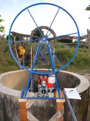 Practica Motorized Rope Pump