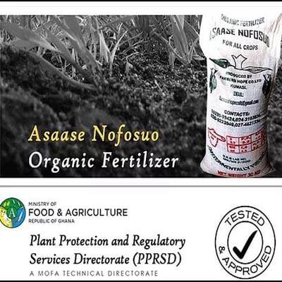 Farmers Hope Organic Fertilizer