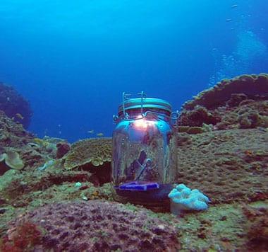 Consol Solar Jar Underwater