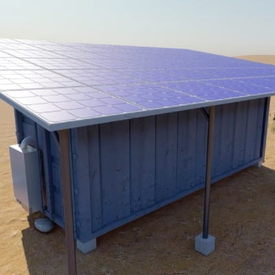Solar Powered Communal Refrigeration