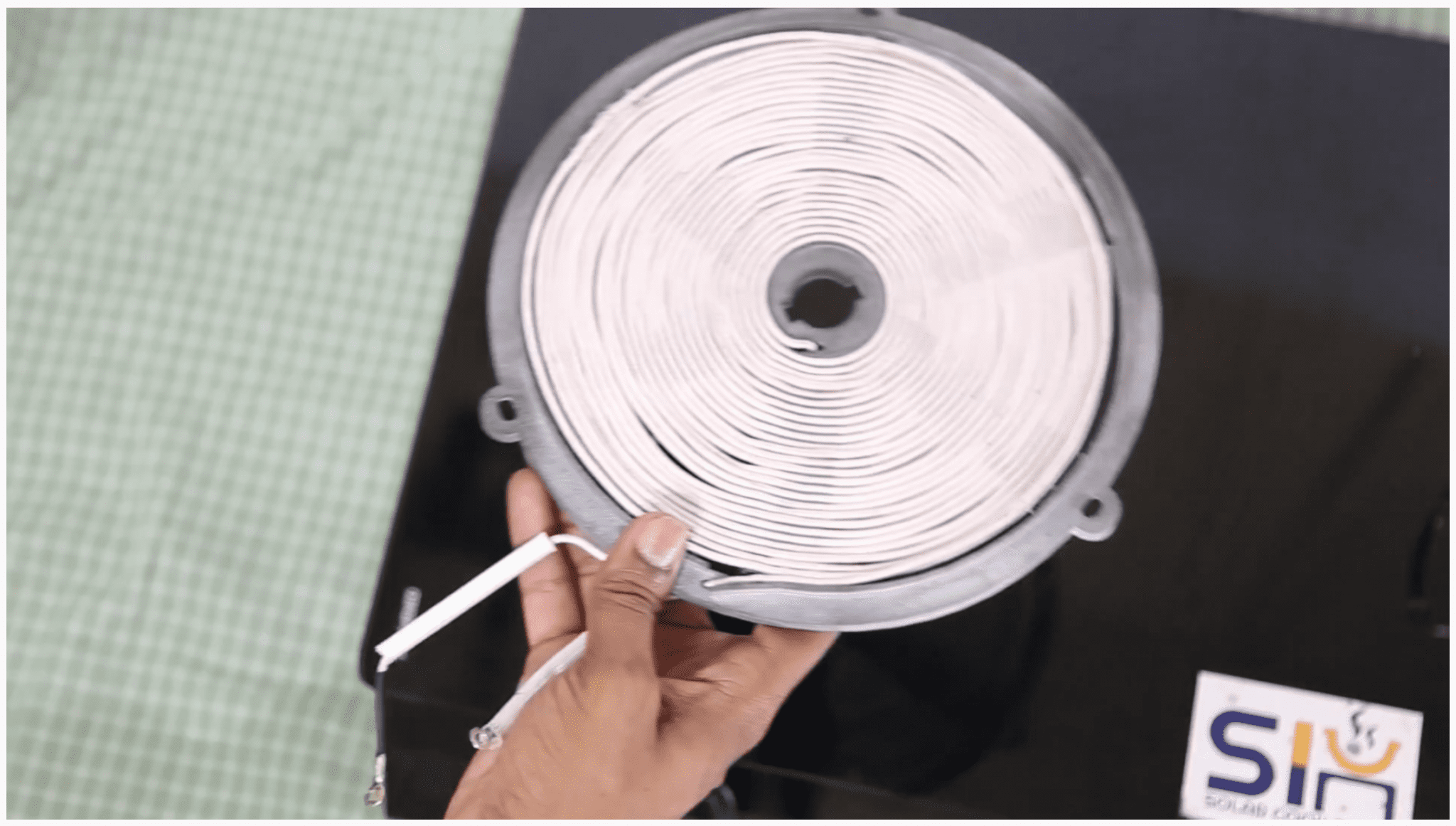 Solar PV Cookstove Induction Coil
