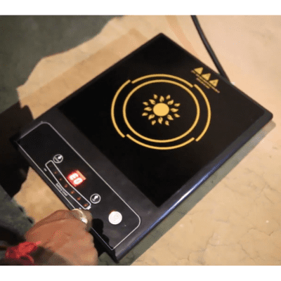 A one-ring Solar PV Cookstove