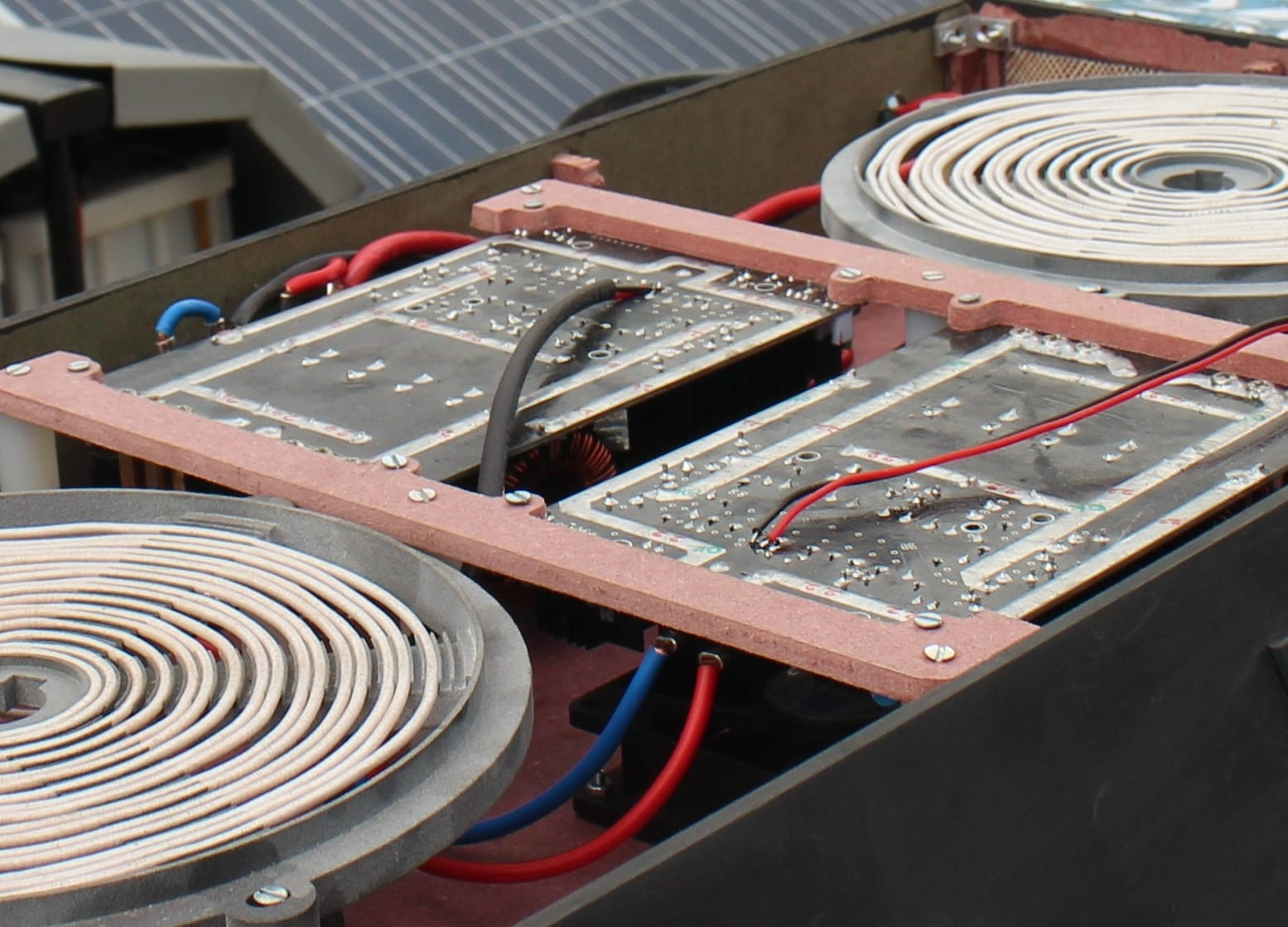 Solar PV Cookstove Internals