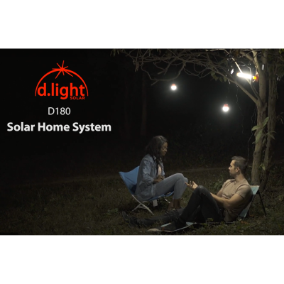 Demonstration of the d.Light D180 Solar Home System